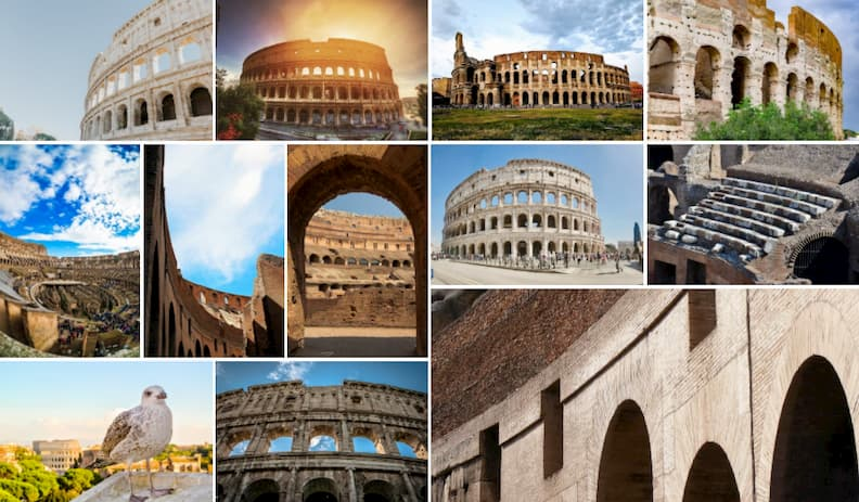 rome holiday itinerary colosseum