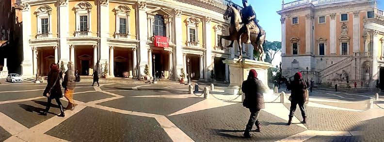 rome palazzi campidoglio