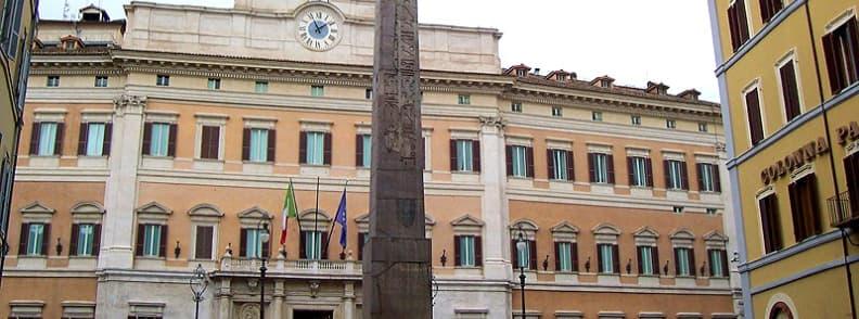rome palazzo montecitorio