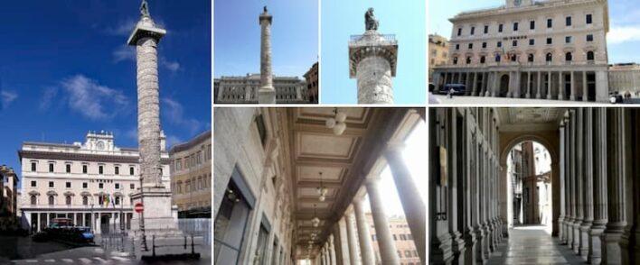 rome piazza colonna