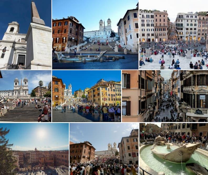 rome piazza di spagna spanish steps