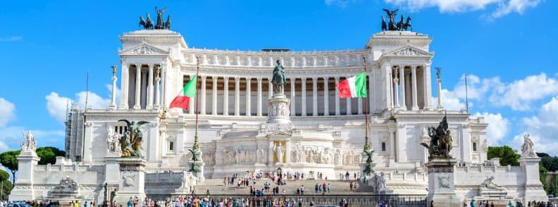 rome piazza venezia altare della patria