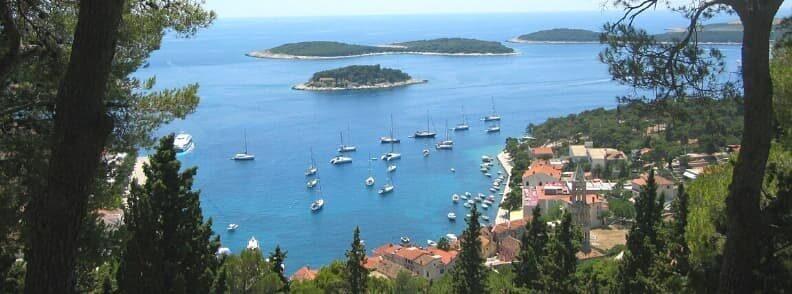 sailing hvar island in croatia