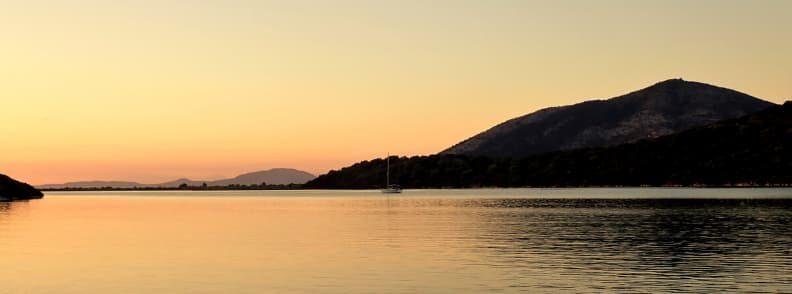sailing the ionian sea islands