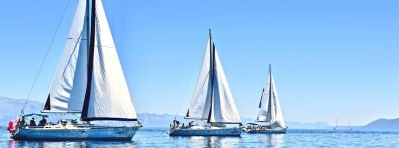 sailing vacation in croatia