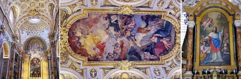 san luigi dei francesi rome historical center