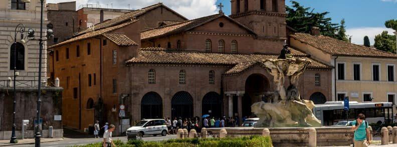 santa maria in cosmedin bocca della verita rome holiday itinerary