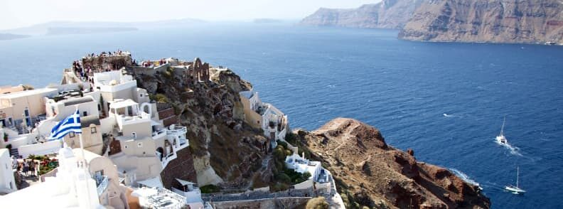 santorini sailing the cyclades islands guide