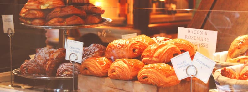 save money travel europe eat from french bakery