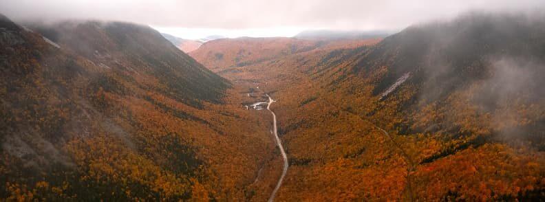 scenic drive in new hampshire fall foliage