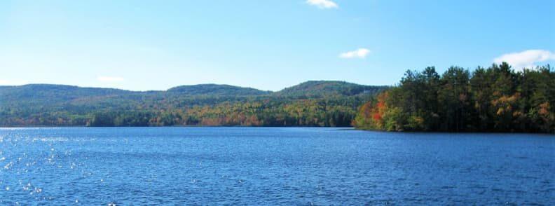scenic drive in new hampshire pemigewasset lake