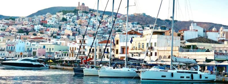 siros sailing the cyclades islands guide