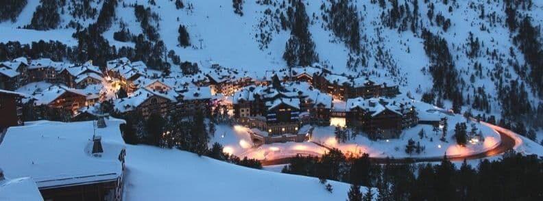 ski resorts france