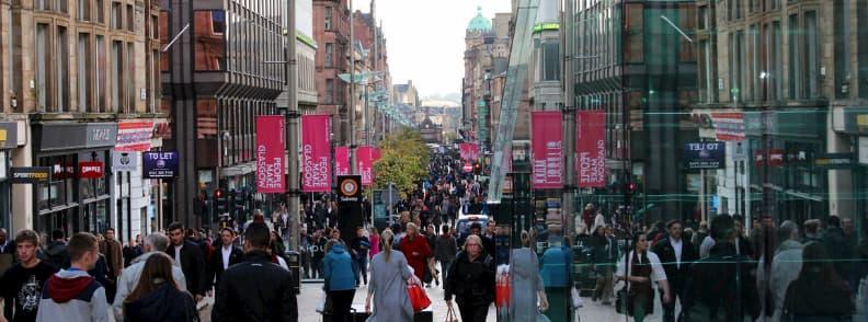 street in glasgow scotland