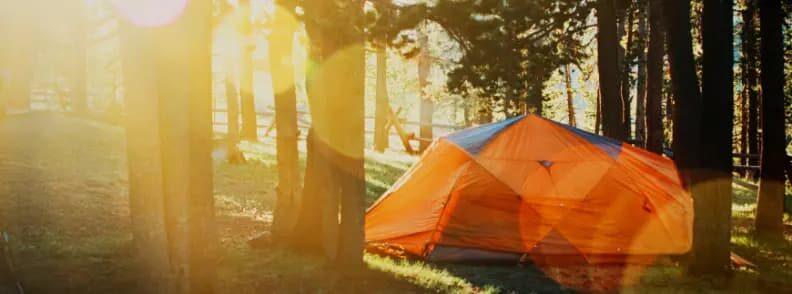 summer travel camping