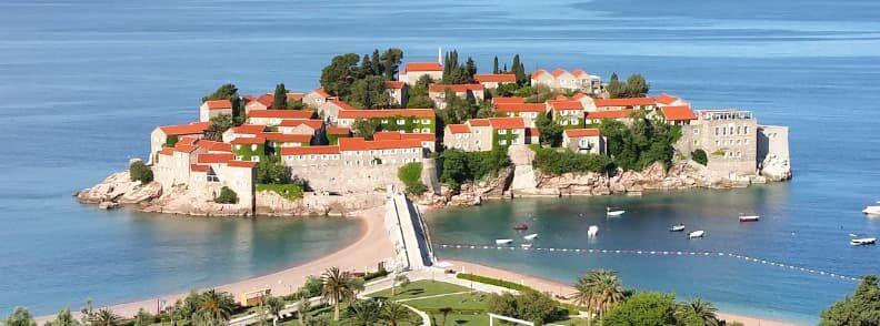 sveti stefan montenegro seaside