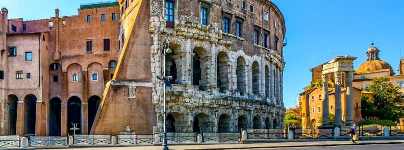 teatro marcello rome amphitheaters