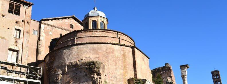 temple of romulus roman forum