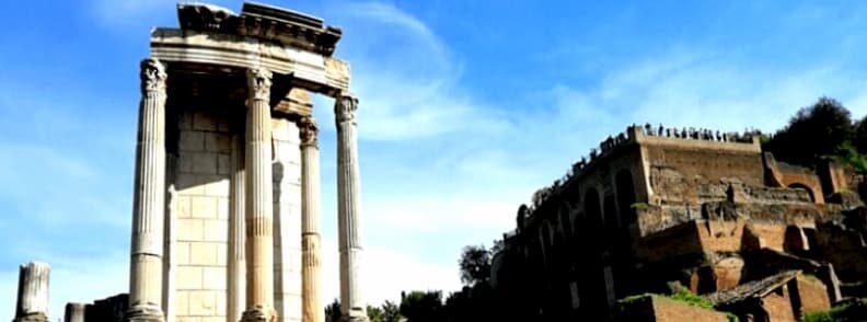 temple of vesta tempio di vesta roman forum