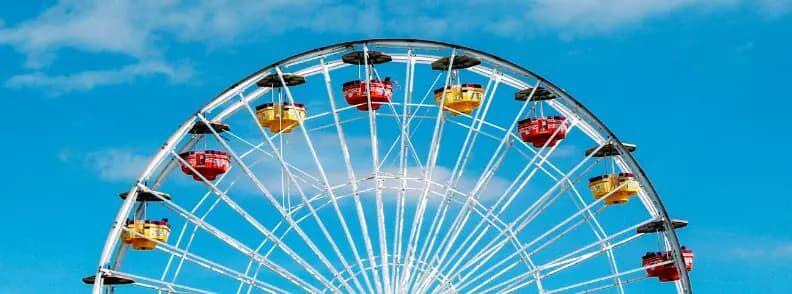 theme park summer travel destination