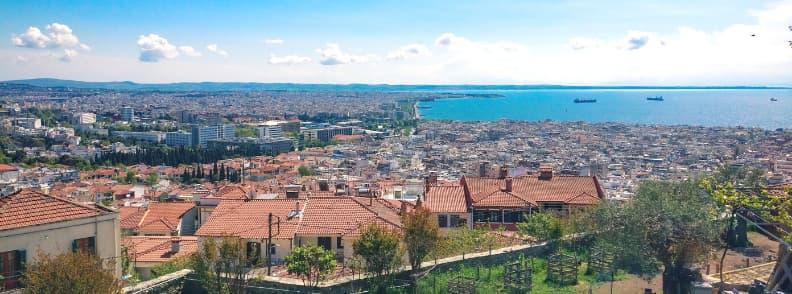thessaloniki travel costs greece