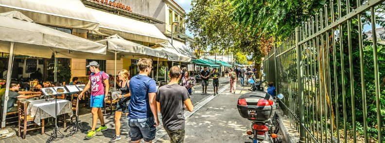 things to do in monastiraki adrianou street