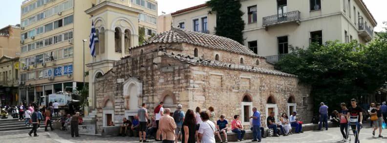 things to do in monastiraki square