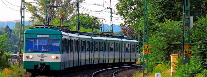 train in budapest hungary
