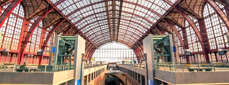 train station antwerp belgium