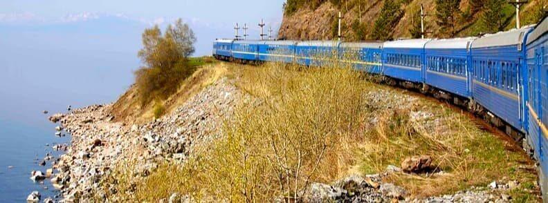 trans siberian mongolian express train ride
