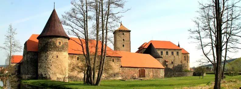 travel to czech republic vltava river valley