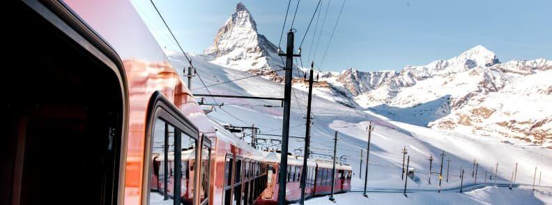 traveling to zermatt by train