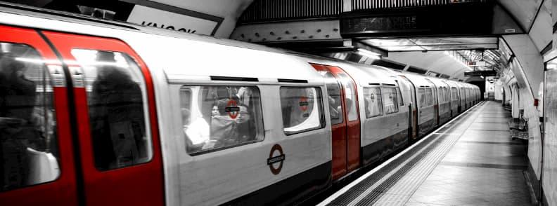 underground london tube public transport europe