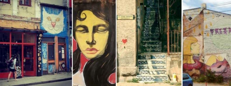 veliko tarnovo street art murals