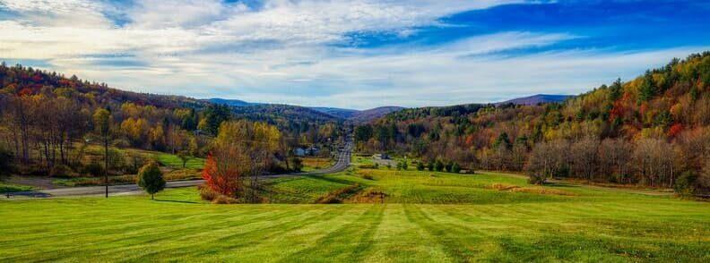 vermont fall foliage scenic drive