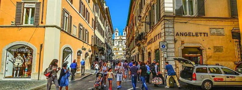 via condotti street rome