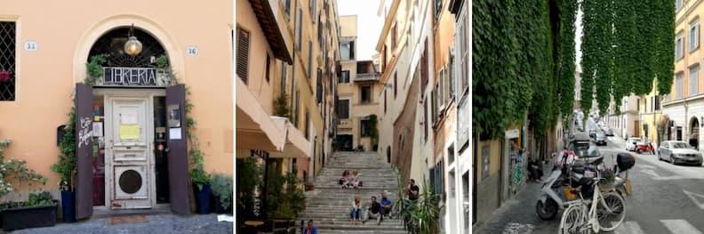 via del boschetto street rome