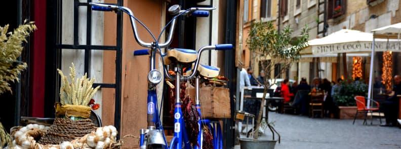 via del governo vecchio street in rome