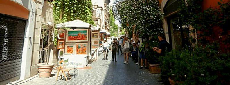 via margutta street rome