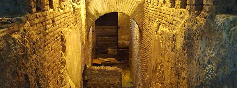 vicus caprarius water city rome archaeological sites