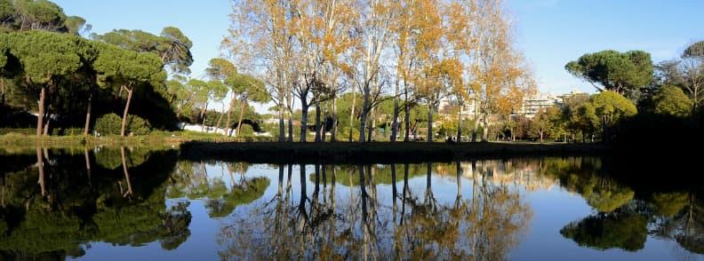 villa ada park in rome