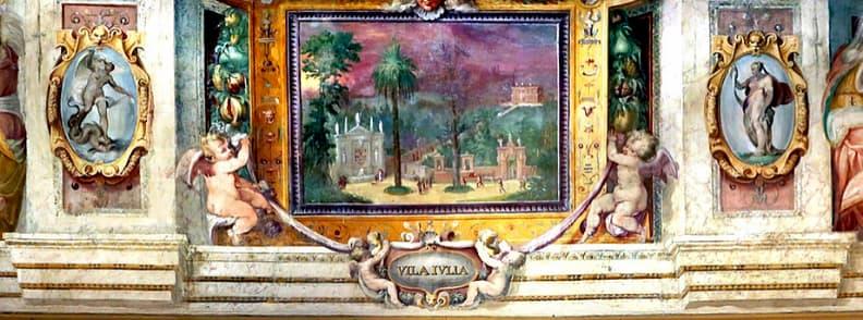 villa giulia art gallery in rome