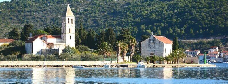 vis island sailing in croatia