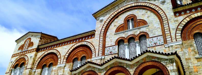 visit to piraeus holy trinity church