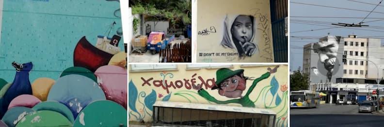 visit to piraeus street art