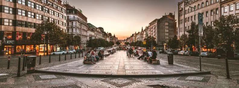 wenceslas square prague history