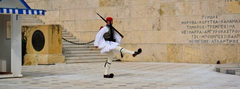 what to do in athens changing of the guards syntagma square