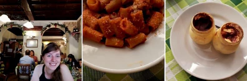where to eat in rome historical center da tonino