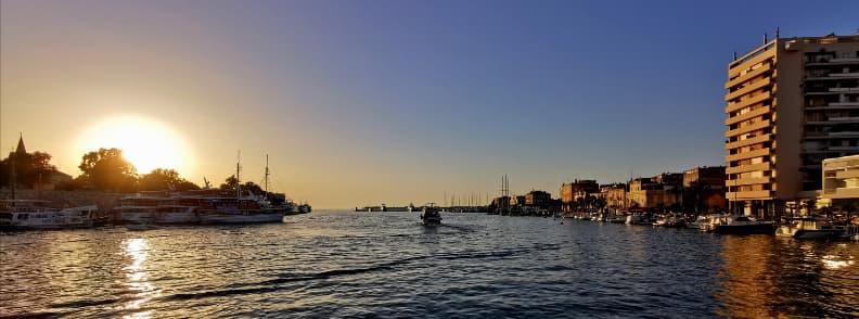 zadar travel costs croatia