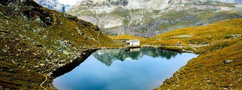 zermatt lake in summer